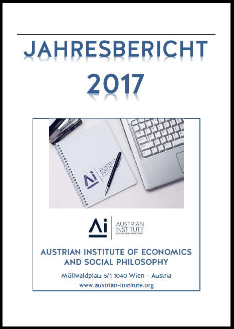 Jahresbericht 2017 des Austrian Institute