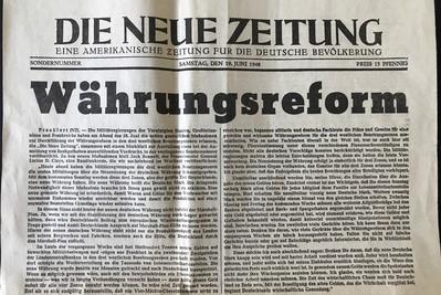 70 Jahre Soziale Marktwirtschaft  – von den Grundprinzipien Erhards ist wenig übrig geblieben