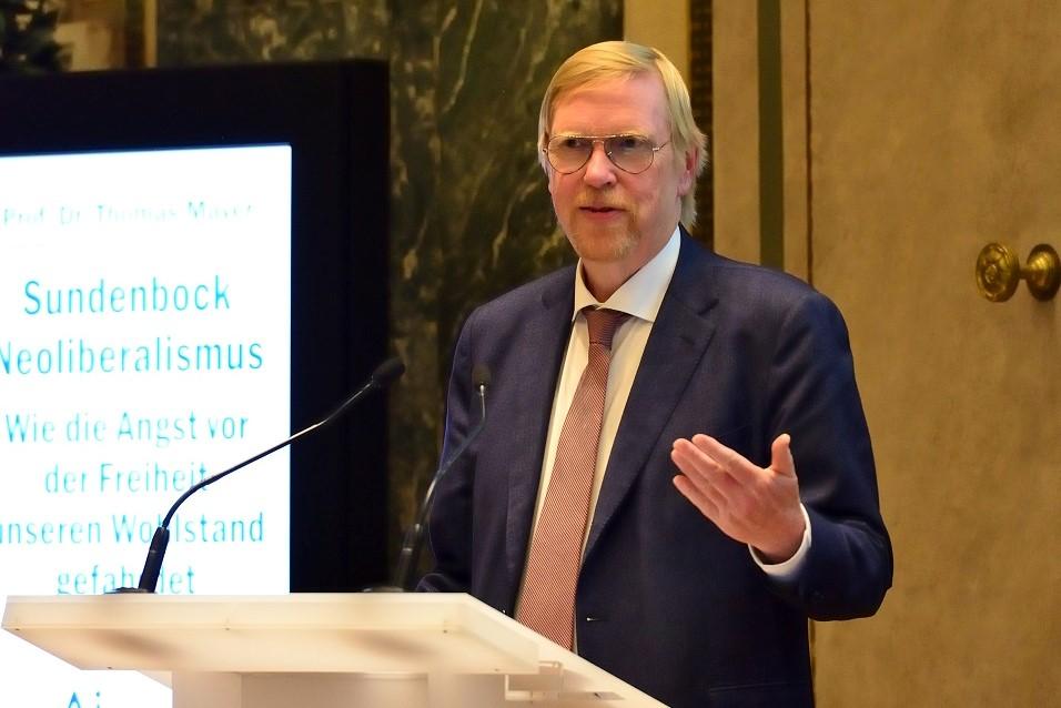 Thomas Mayer am 8. Mai in Wien: Die Geldpolitik hat die Gesellschaft verändert