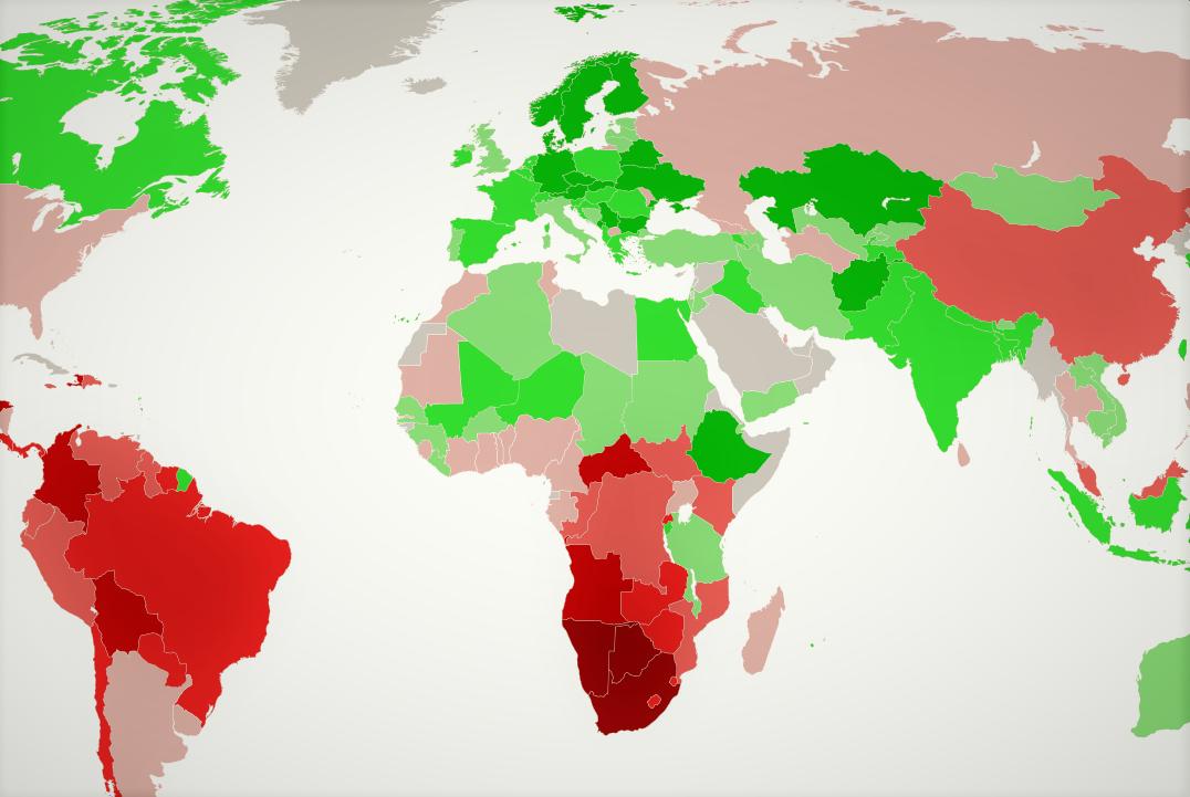 Inequality is Shrinking: Branko Milanović Disagrees with Oxfam