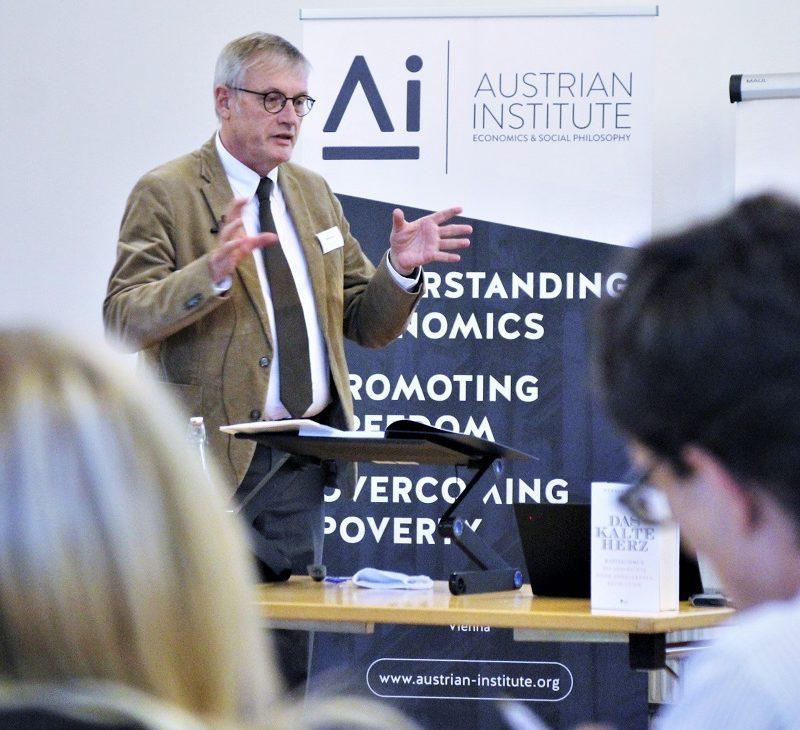 Prof. Dr. Werner Plumpe, Frankfurt a. M., erklärt, warum jede Form von Sozialismus scheitern muss
